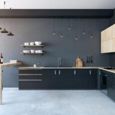 Zwartgekleurde keukens: ideaal voor wie houdt van strak en rustgevend
